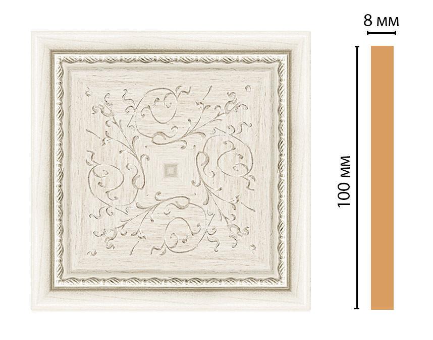 Вставка цветная DECOMASTER 186-2-15 (100*100*8мм)