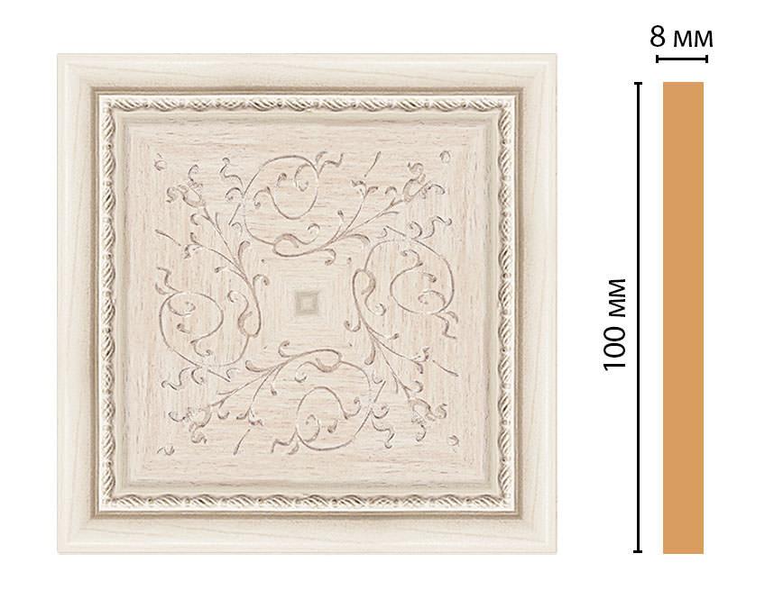 Вставка цветная DECOMASTER 186-2-13 (100*100*8мм)