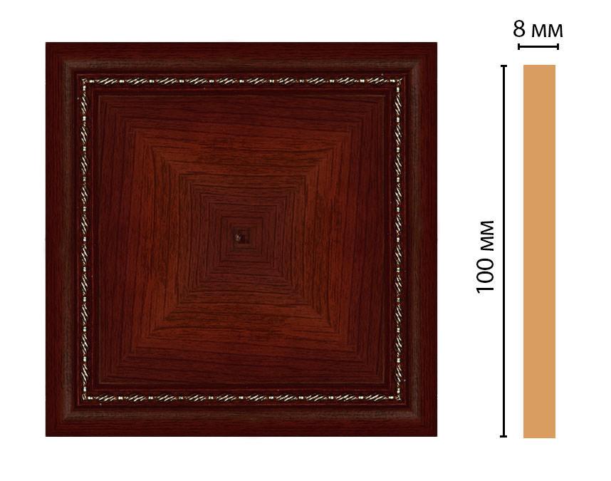 Вставка цветная DECOMASTER 185-2-52 (100*100*8мм)