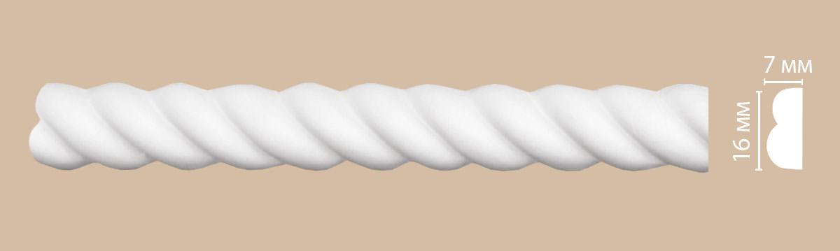 Молдинг с рисунком DECOMASTER 98100F гибкий (16*7*2400мм)