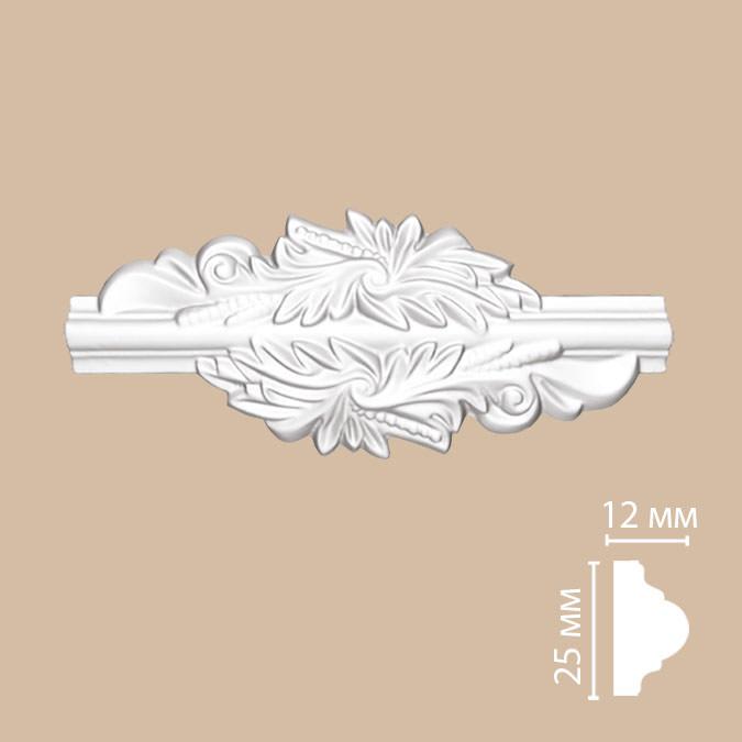 Вставка декоративная DECOMASTER 97012-7 (200*85*12мм)