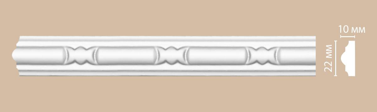 Молдинг с рисунком DECOMASTER 98010F гибкий (22*10*2400мм)
