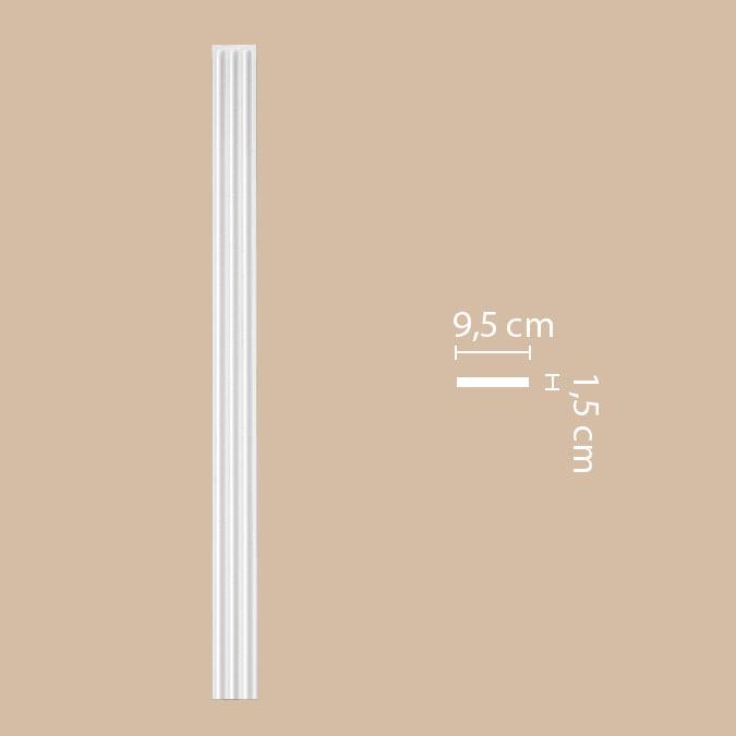 Пилястра DECOMASTER DK199 (95*2000*18мм)