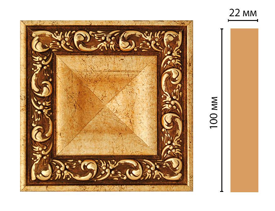 Вставка цветная DECOMASTER D207-552 (100*100*22мм)