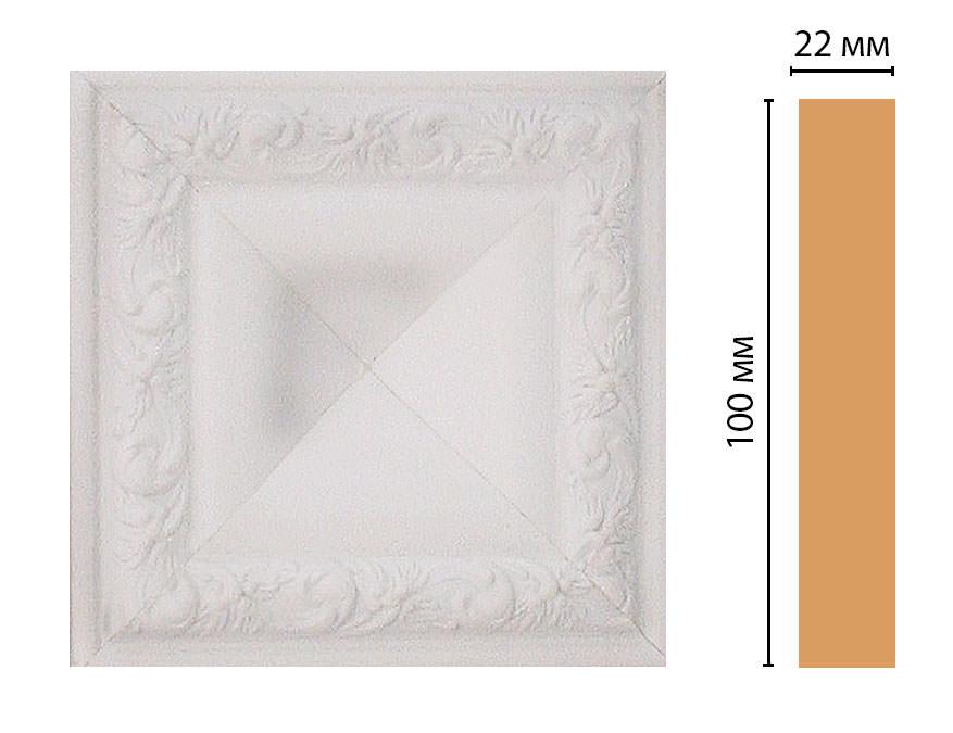 Вставка цветная DECOMASTER D207-115 (100*100*22мм)