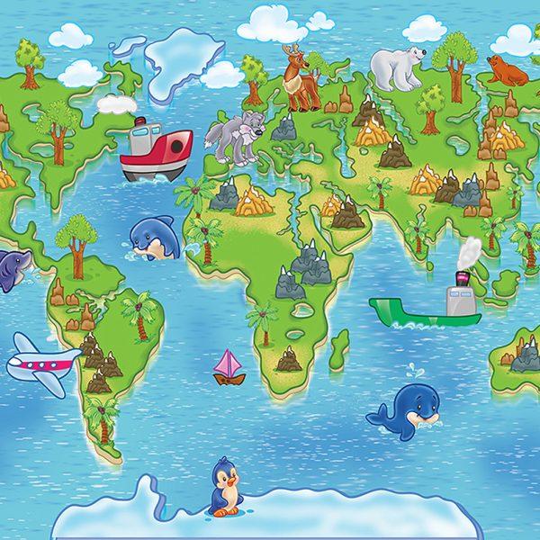 Детская карта