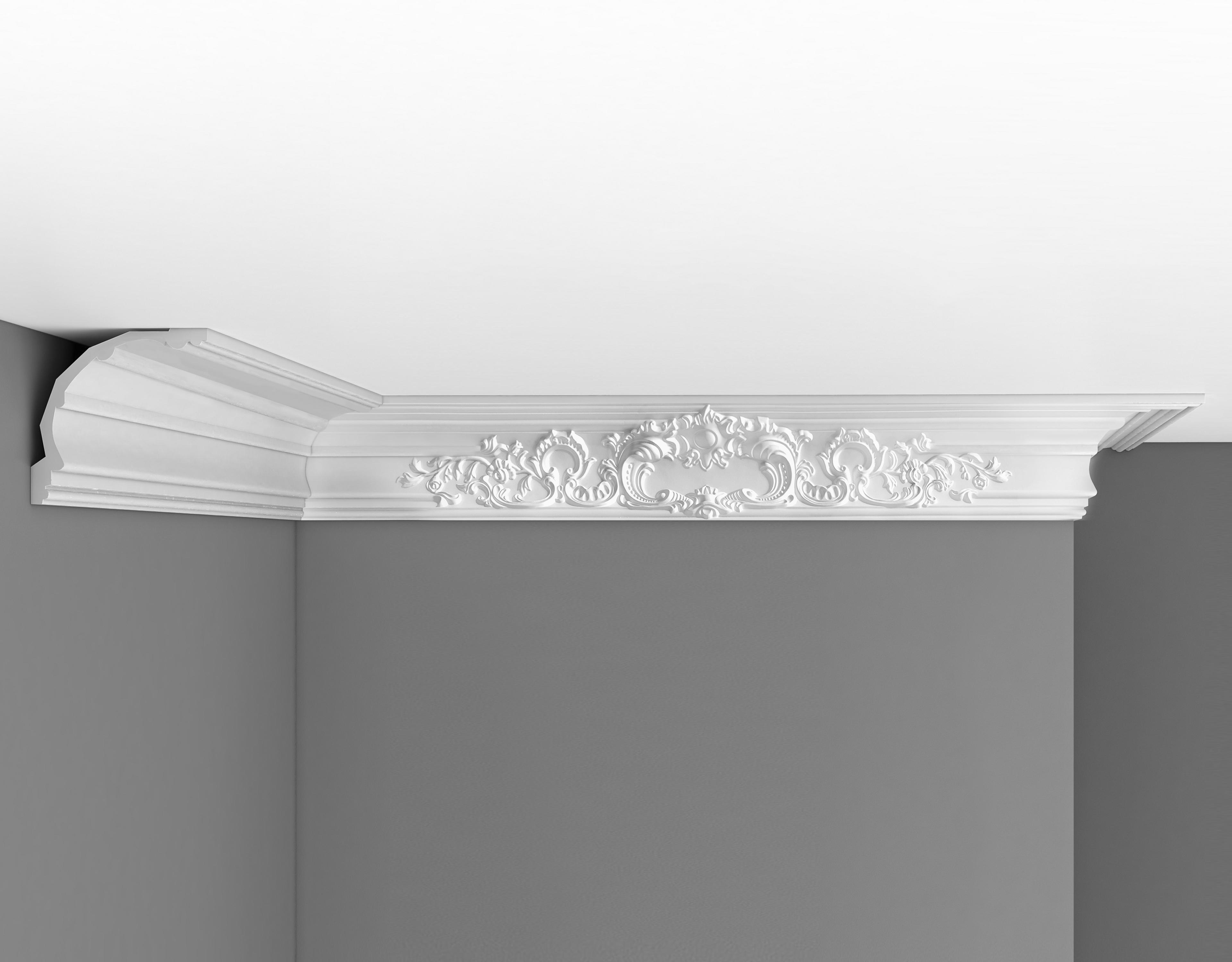 Плинтус потолочный с рисунком DECOMASTER DP41 (172*175*2400мм)
