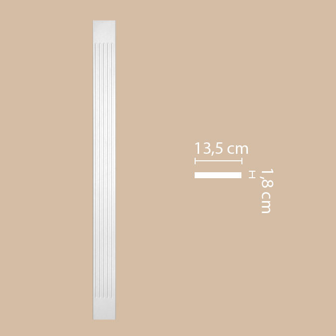 Пилястра DECOMASTER DK-82200 (135*2000*18мм)