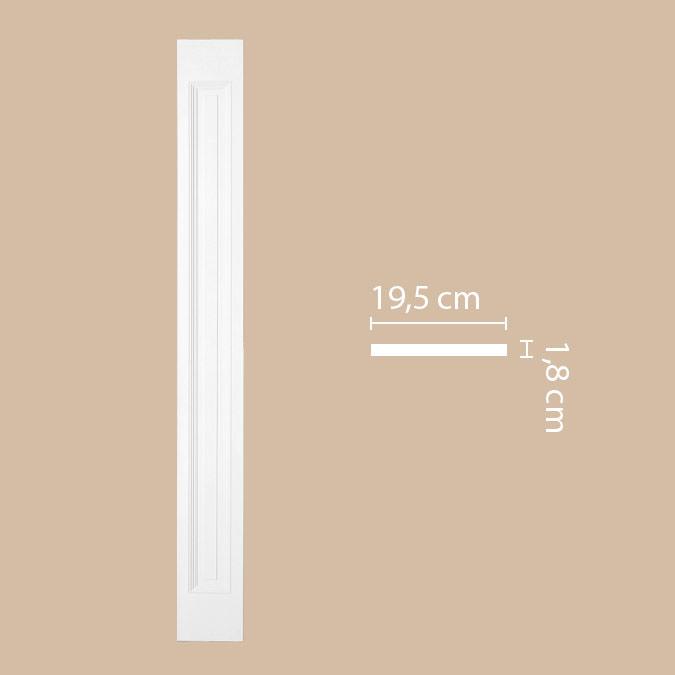 Пилястра DECOMASTER DK-82240 (196*2000*18мм)
