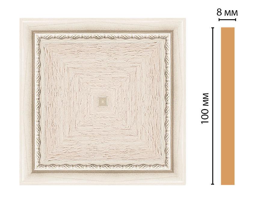 Вставка цветная DECOMASTER 185-2-13 (100*100*8мм)