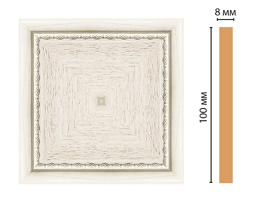 Вставка цветная DECOMASTER 185-2-15 (100*100*8мм)