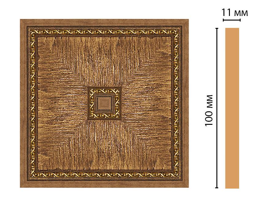 Вставка цветная DECOMASTER 156-2-3 (100*100*11мм)