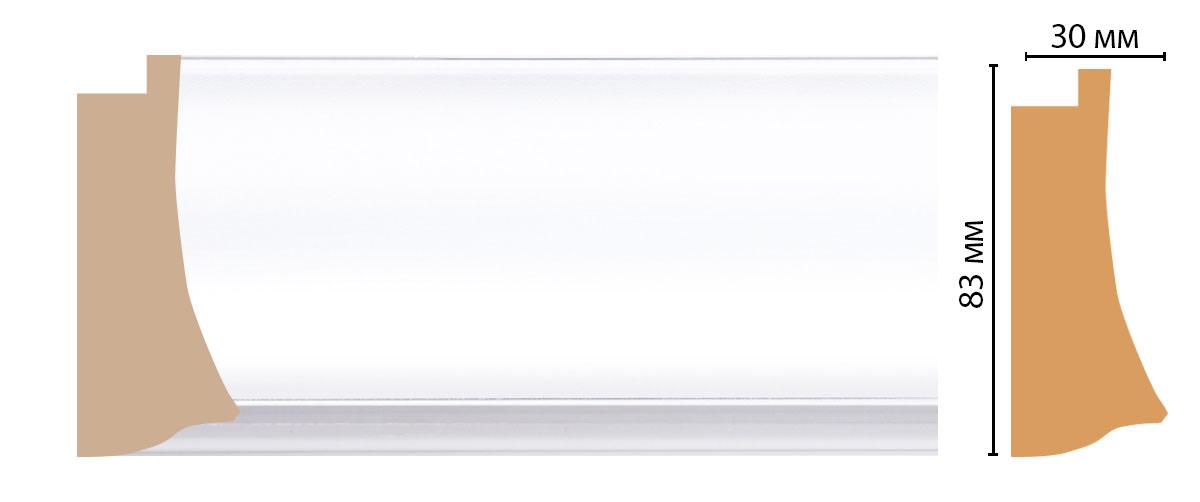 Багет DECOMASTER 552-114 (83*30*2900мм)