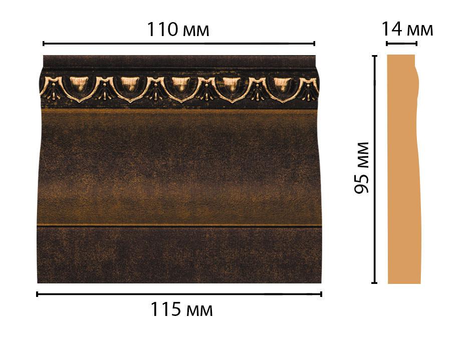 Основание DECOMASTER D204-56 (115*95*14мм)