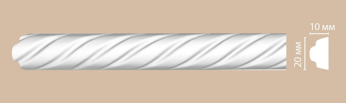 Молдинг с рисунком DECOMASTER 98701 (20*10*2400мм)