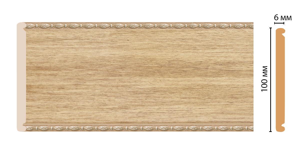 Декоративная панель DECOMASTER F10-11 (100*6*2400мм)