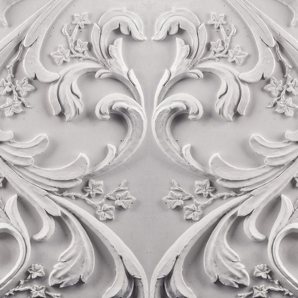 Фотообои Барельеф цветочный орнамент