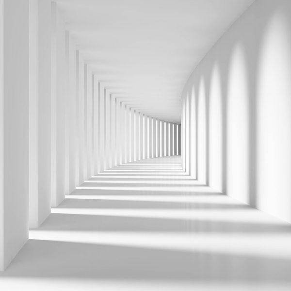 Фотообои Белый туннель