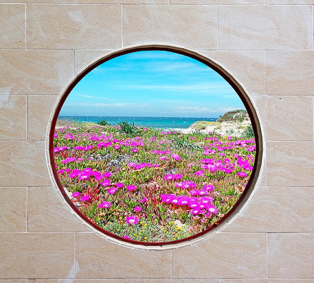 Фотообои Круглое окно