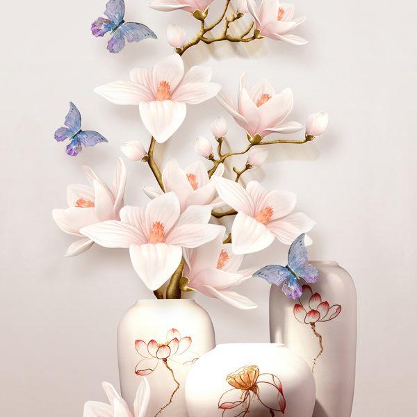 Фотообои Вазы с цветами