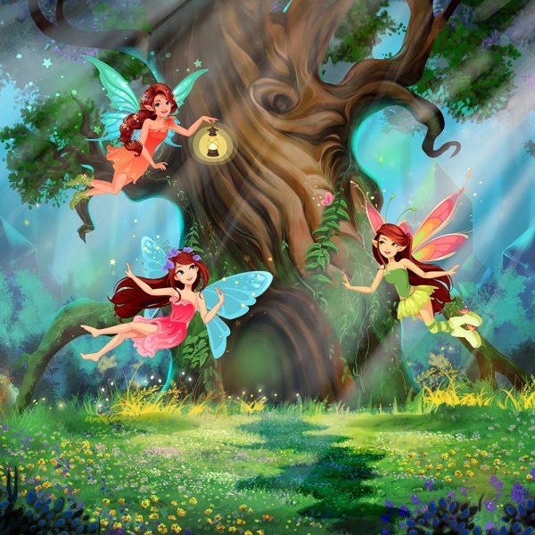 Фотообои Волшебный лес