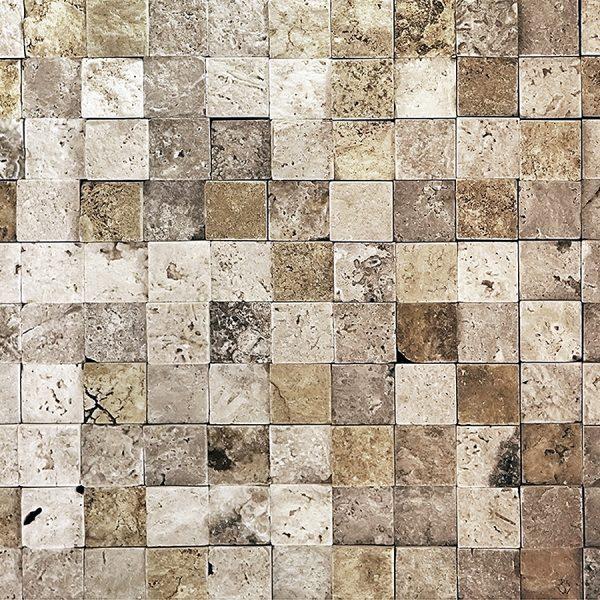 Камень квадрат беж