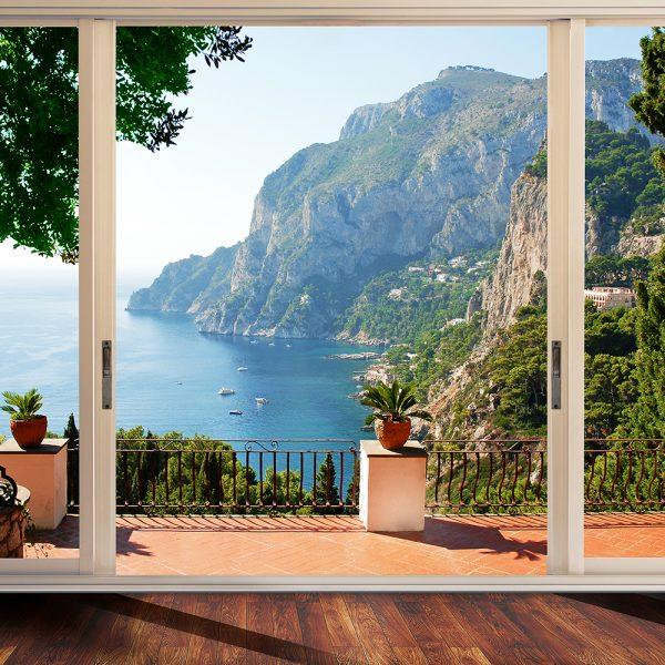 Вид на остров Капри