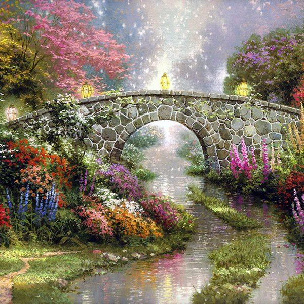 Волшебный мост живопись