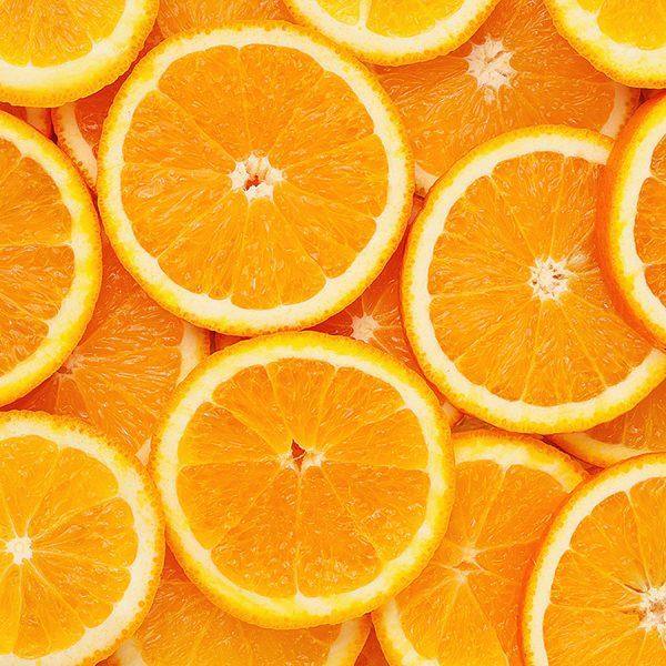 Апельсиновый фон