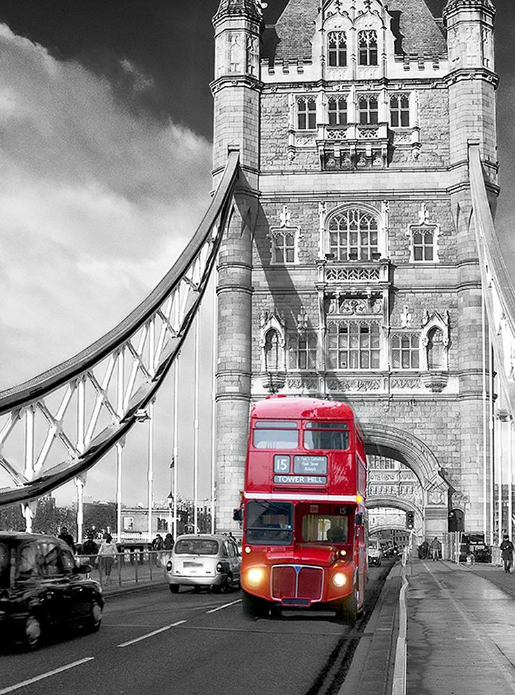 Автобус на мосту
