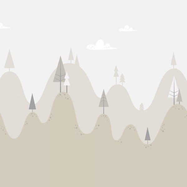 Горы беж
