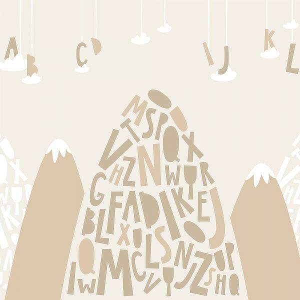 Горы с буквами