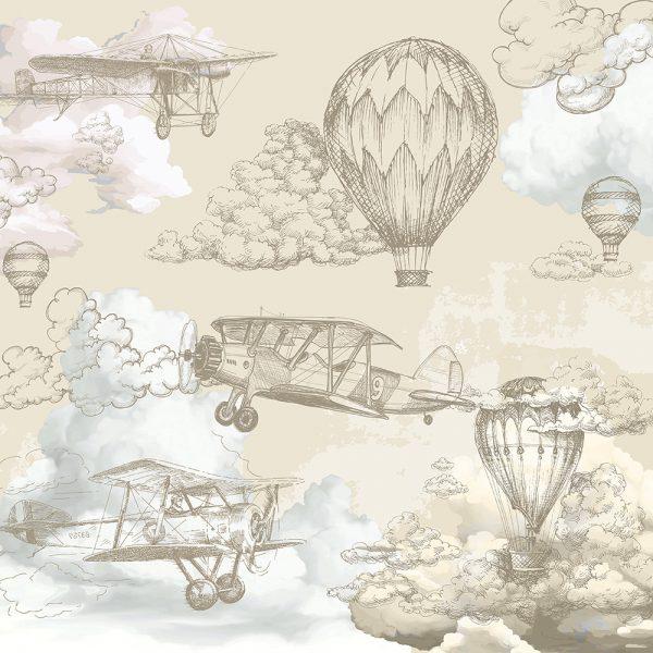 Воздушные шары винтаж