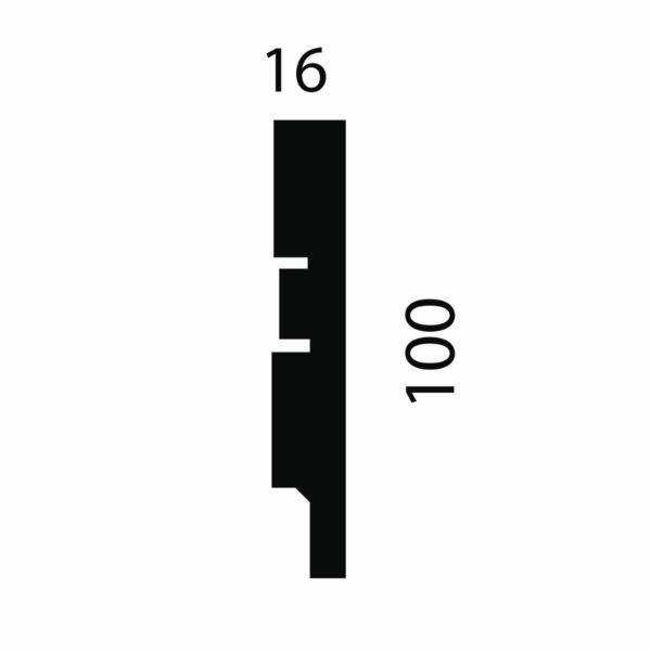 Плинтус Artiva AP75